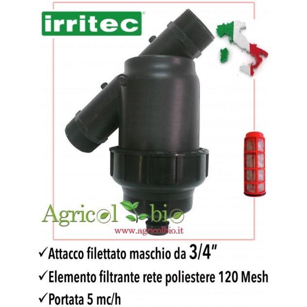 IRRIGAZIONE FILTRO A rete PP IN LINEA  1/'