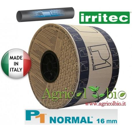 Manichetta P1 - Portata 3,8 l/h Passo 20 cm Spessore 10 mil - Bobina da 1800 mt - Irritec