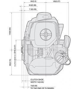 Decespugliatore a Impugnatura SINGOLA con motore a scoppio TJ 35 E S - 1,4 HP - KAWASAKI