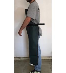 Grembiule lungo con tasca PVC