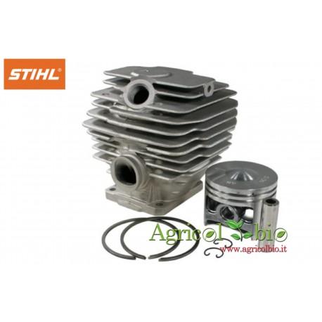 Cilindro e pistone completo Stihl per Motosega cod.1123 020 1214 - ORIGINALE STIHL