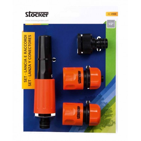 "SET Lancia Raccordi 1/2"" - Stocker"