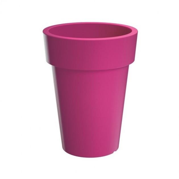 Vaso colorato in plastica da esterno e interno lofly alto cm 40 - Vaso da interno ...