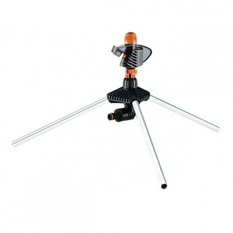 Irrigatore Claber a intermittenza Impact Tripod regolabile da 0° a 360°