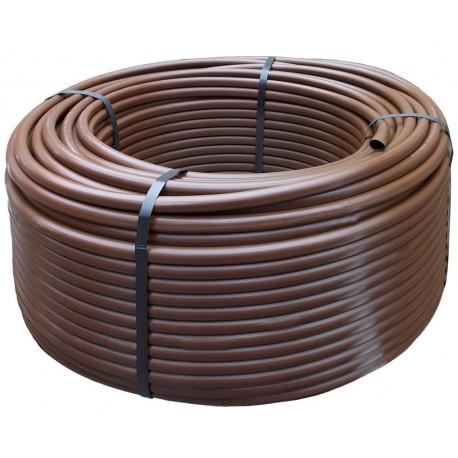 Tubo irrigazione Polietilene Marrone diam 16 mm PN 6 - 50 metri-NEW