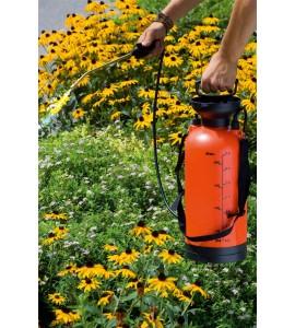 Pompa a zaino per diserbo e trattamenti fogliari da litri 8 per orto e fiori - Stocker L. 8