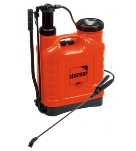 Pompa a zaino per diserbo e trattamenti fogliari da litri 20 per orto e fiori - Stocker L. 20