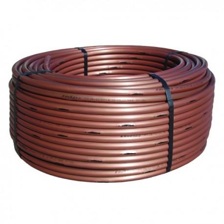 Ala gocciolante Autocompensante per SUBIRRIGAZIONE marrone bobina da 100 metri passo 33 cm - portata 2,3 l/h