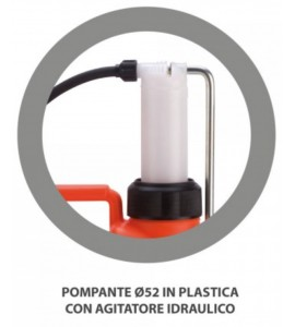 Pompa a zaino per diserbo FOX 12 da 12 litri con pompante in plastica