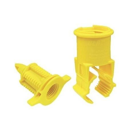 Staffa autoperforante diam. 32 X 1/2 ideale per Tubo irrigazione PE