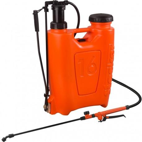 Pompa a zaino per diserbo e trattamenti fogliari da litri 16 per orto e fiori - Stocker L. 16