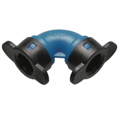 """Gomito a 90° Blu-Lock a innesto Tubo-Tubo - 1/2""""x1/2"""""""