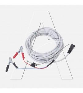 Abbacchiatore elettrico a batteria Aima TWIST 2.0 PLUS 12 Volt - asta fissa cm 250 con prolunga cm 100