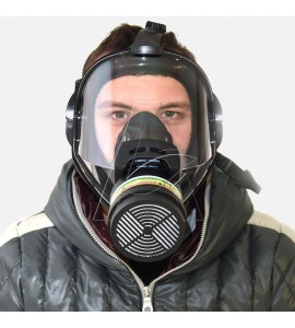 maschera facciale gas