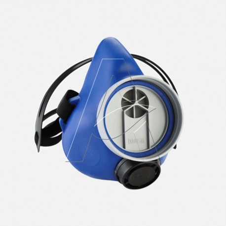 Semimaschera monofiltro protezione gas polveri aerosol eurmask uno