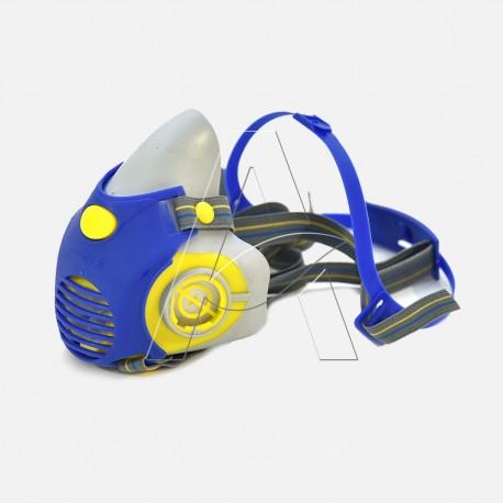 Semimaschera protezione gas acidi e polveri ETNA