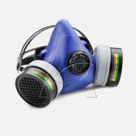 Semimaschera respiratore antipolvere e gas professionale Milla s.r.l. NEW EURMASK®