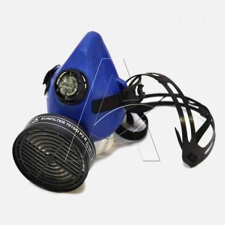 Semimaschera antigas EURMASK DIN® contro polveri e gas nocivi