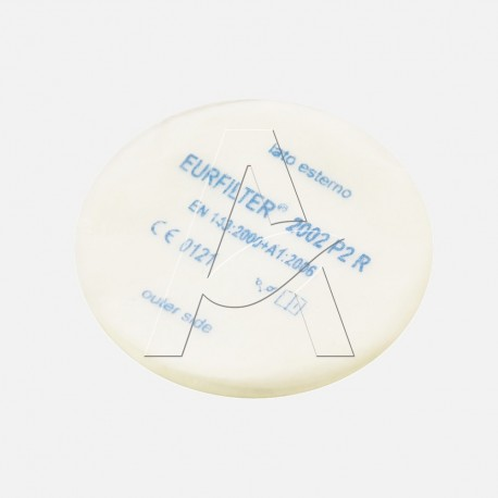 filtro antipolvere per comporre kit per maschere etna