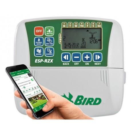 PROGRAMMATORE CENTRALINA RAIN BIRD 4 zone stazioni RZX4I per Interno - wifi compatibile