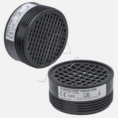 Filtro protezione  P3 R per semimaschera serie EURMASK UNO Milla s.r.l. - adattabile a Raccordi filettati speciali