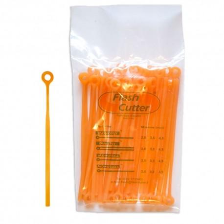Spezzoni filo / lamelle MonoFly 4.5 mm per testina FlashCutter Qfc10 - confezione da 40 Pz