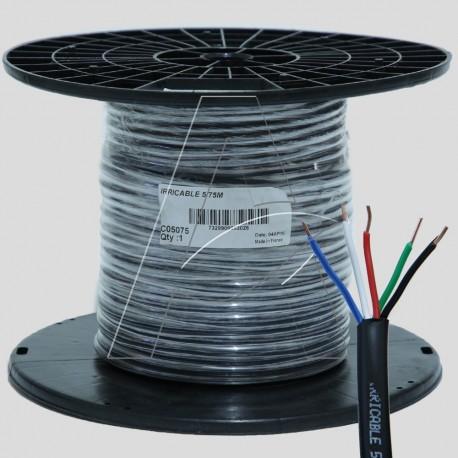 Cavo elettrico per elettrovalvole a 9 conduttori. Bobina 75 metri