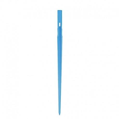 Astina autofilettante per tubo capillare da D. 2,5 - 3,2 mm. Colore BLU Irritec