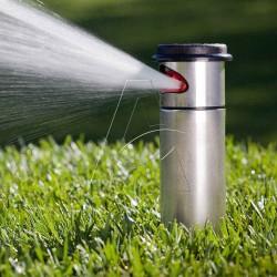 angolo regolabile M Plus Heavy Duty ottone Impatto Irrigatore con metallo Spike