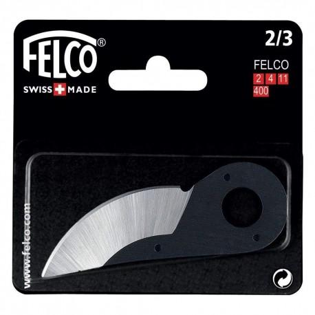 Felco 2/3 - Lama ricambio per forbici Felco 2,4,11,400