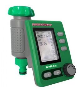 Programmatore a pile Green Timer PRO con valvola incorporata