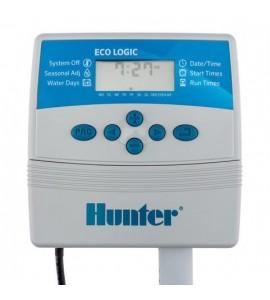 Programmatore Centralina per irrigazione 4 Zone Hunter Eco-Logic, per Interno