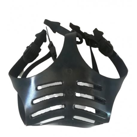 Bardatura a 5 rami in gomma EPDM per maschera Panarea