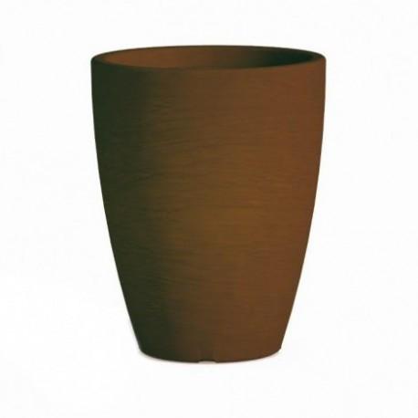 Vaso Adone Round Marrone - diametro 30 cm - H 38 cm
