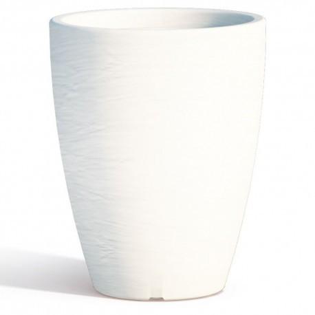 Adone Round Bianco - diametro 30 cm - H 38 cm