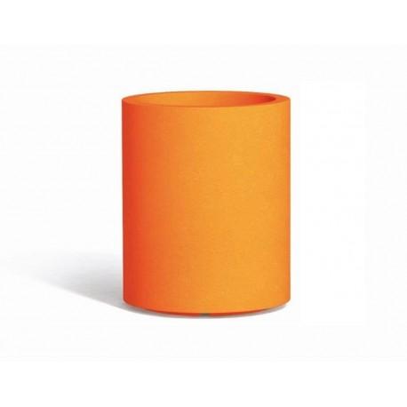 Vaso Venusio colore arancio diam. 40 cm - H 50 cm