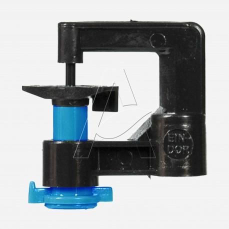 Minirrigatore monogetto antinsetto a testa in su - ugello 0,8 mm - Azzurro