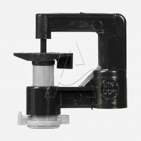 Minirrigatore monogetto antinsetto a testa in su - ugello 0,9 mm - Silver