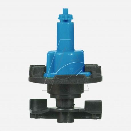 Minirrigatore bigetto antinsetto a testa in giù con filtro ugello integrale - ugello 0,8 mm - Azzurro