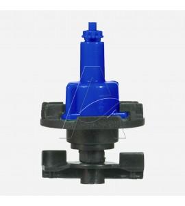 Minirrigatore bigetto antinsetto a testa in giù con filtro ugello integrale - ugello 1,4 mm - Blu scuro