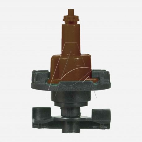 Minirrigatore bigetto antinsetto a testa in giù con filtro ugello integrale - ugello 1,8 mm - Marrone