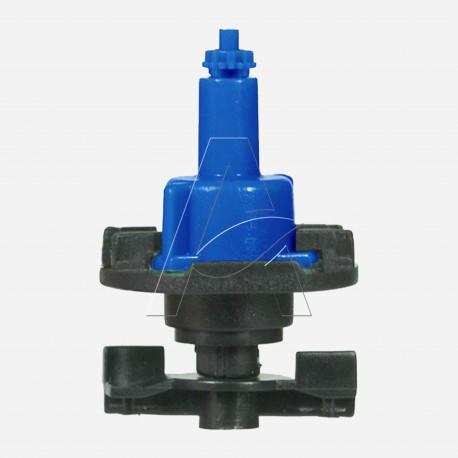 Minirrigatore bigetto antinsetto a testa in giù con filtro ugello integrale - ugello 0,9 mm - Blu