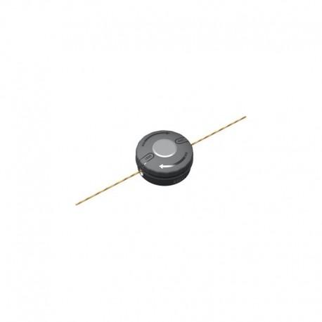 Testina batti e vai 2,4 mm x 5 mt a ricarica rapida e rotazione oraria per Decespugliatori - EGO Power+