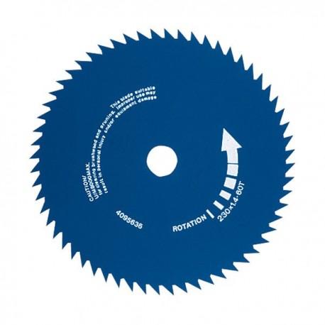 Disco di taglio circolare per decespugliatore taglia erba in acciaio JET - SKY 60 denti