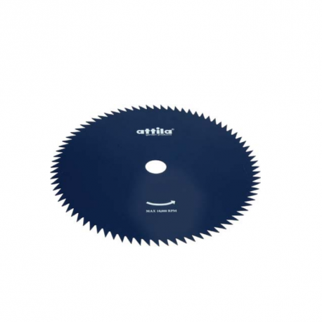 Disco di taglio in acciaio a 80 denti per decespugliatore tagliaerba - Attila