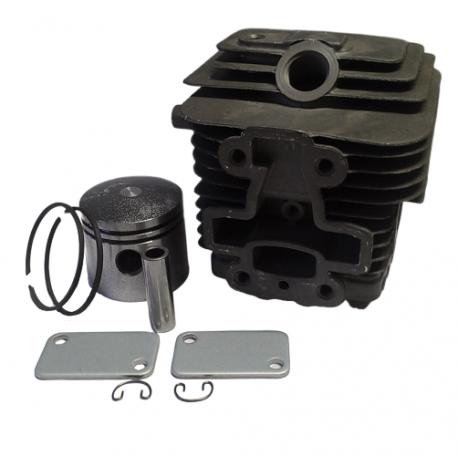 Cilindro completo di pistone e segmenti per motore Kawasaki TJ 35 E - Diametro 37