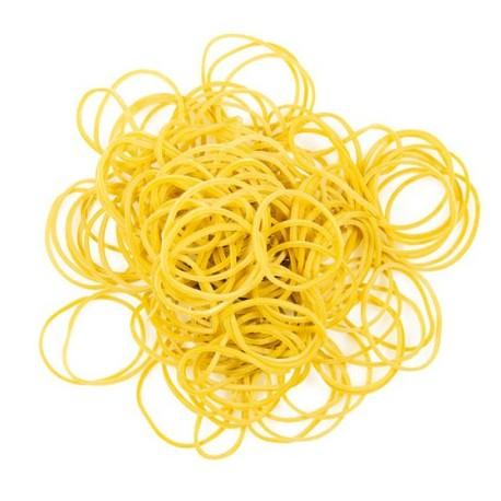 Elastico gomma giallo 60 x 1,5 x 1 kg