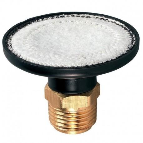 """Valvola di drenaggio in ottone con filtro integrato - attacco 1/2"""" Maschio - HRC"""