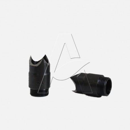 Punzone 3 tagli 120° per fustella foratubi diametro 12,0 mm - Irritec