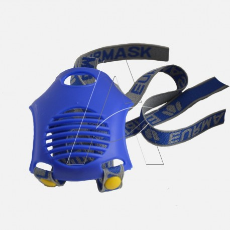 Scudo di protezione valvola esalazione e supporto cinghiaggio per maschera ETNA